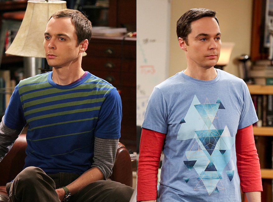 Jim Parsons, The Big Bang Theory, Then and Now