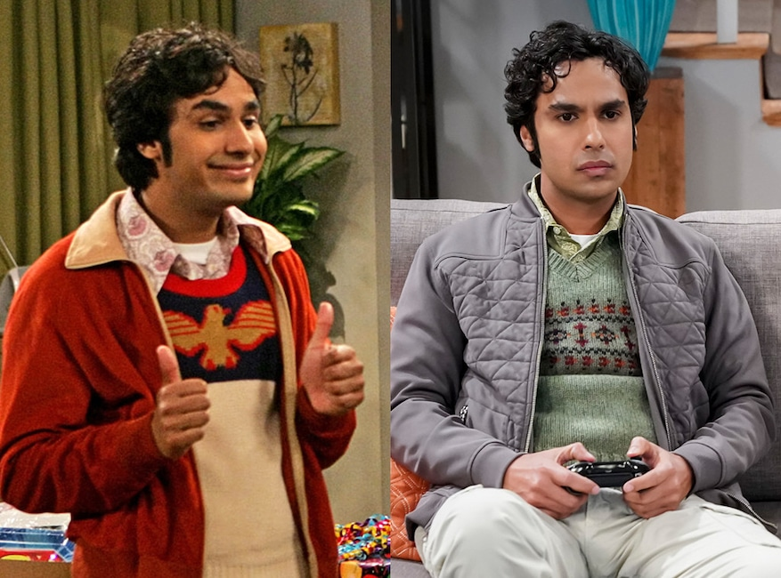 Kunal Nayyar, The Big Bang Theory, Then and Now
