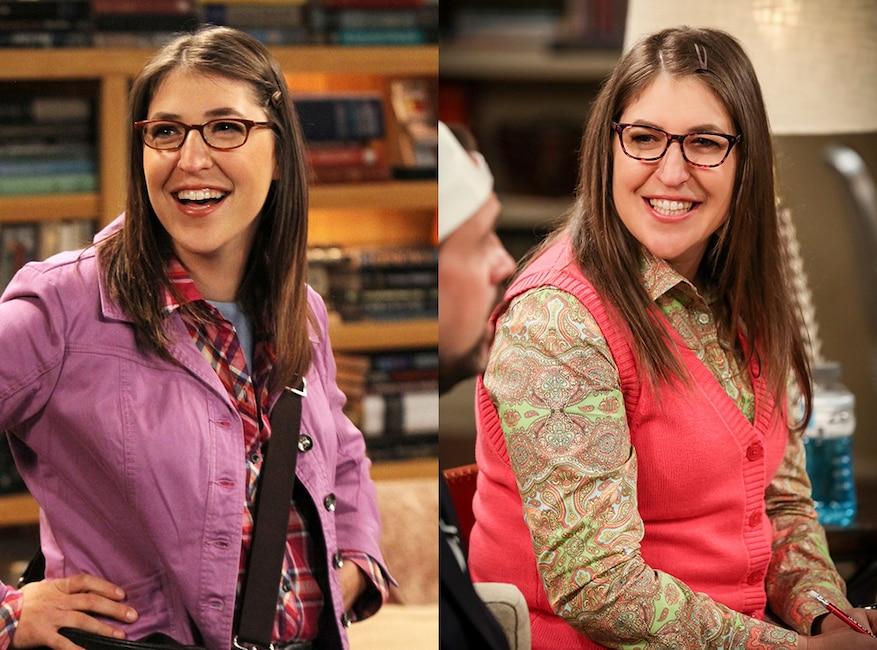 Mayim Bialik, The Big Bang Theory, Then and Now