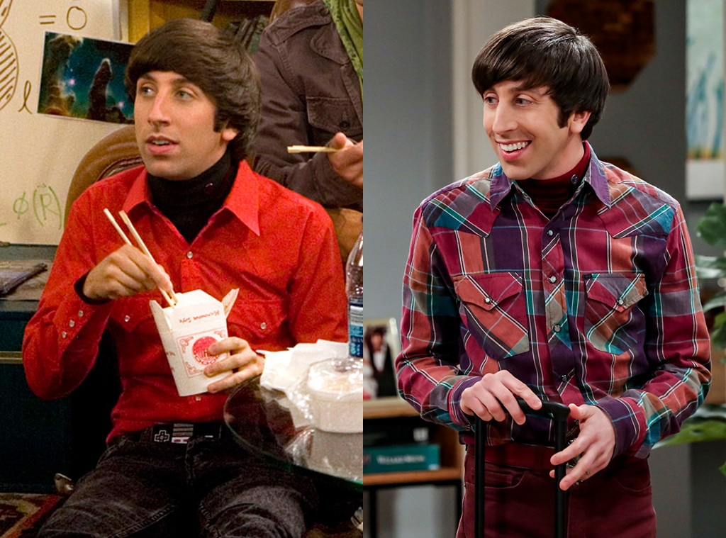 Simon Helberg - CHARACTER: Howard Wolowitz  Two months before the premiere of  The Big Bang Theory , Helberg married actressJocelyn Towne. In May 2012, the couple  welcomed their first child together , a daughter namedAdeline.