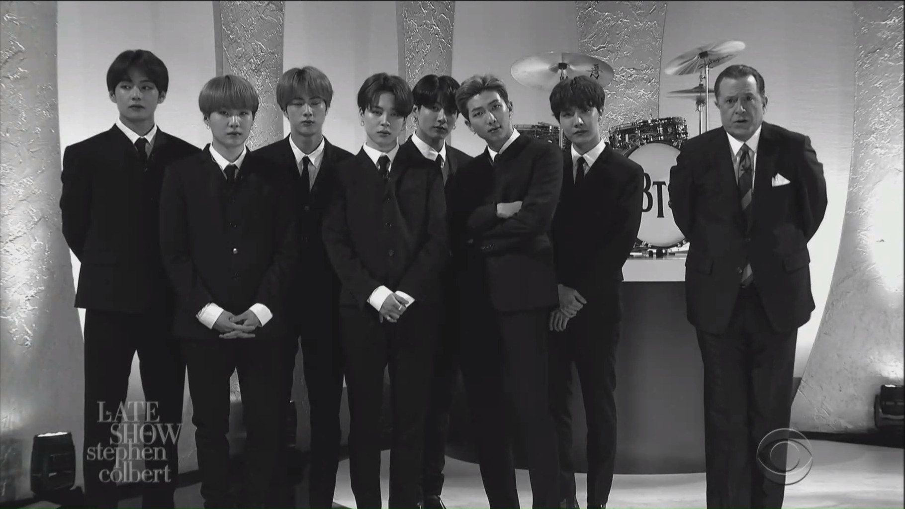 BTS, The Late Show With Stephen Colbert