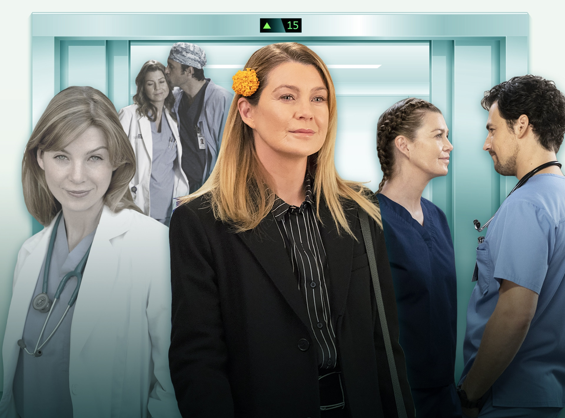Grey's Anatomy, Ellen Pompeo, Patrick Dempsey, Giacomo Gianniotti