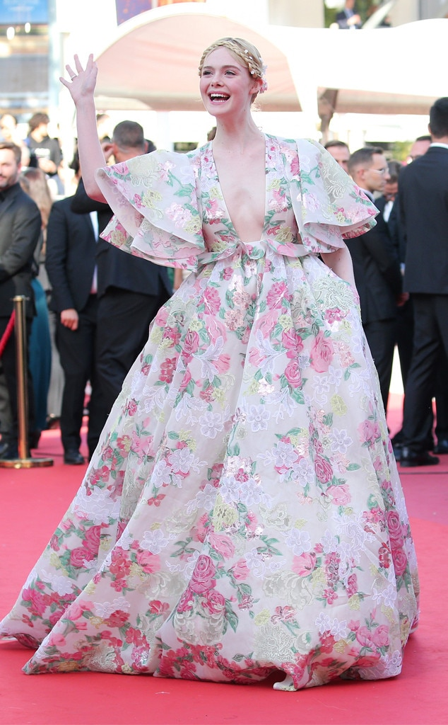 Elle Fanning -  While attending a screening of Les Miserables , the 21-year-old actress sparkles in selected jewelry by Chopard.