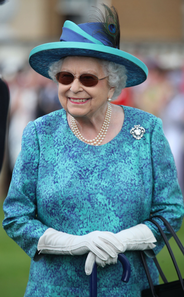 Queen Elizabeth, Garden Party