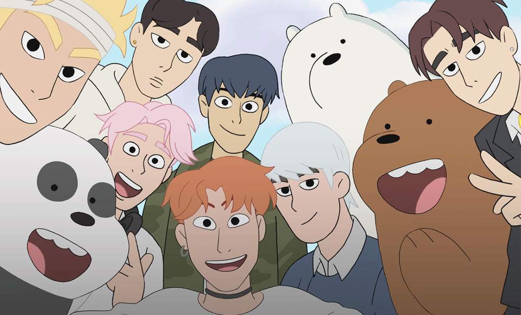 MONSTA X Is Making A Hilariously Adorable Appearance on We Bare Bears