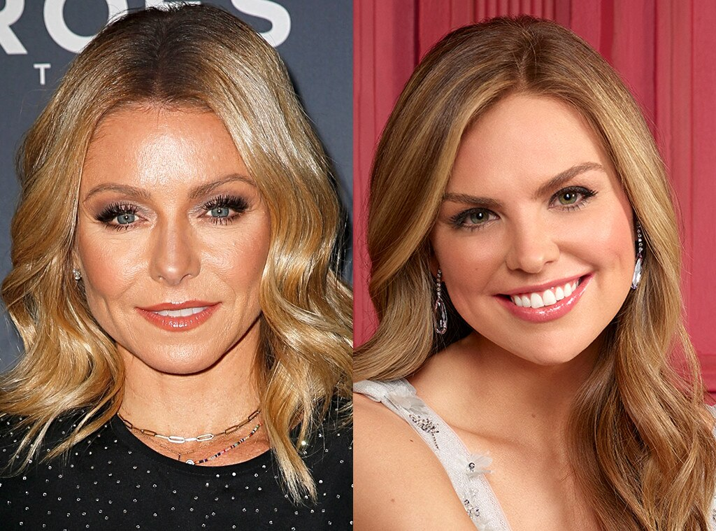 Hannah Brown and Kelly Ripa