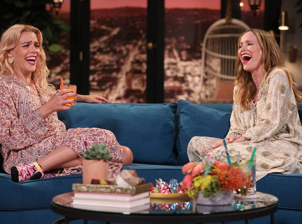 Leslie Mann, Busy Philipps, Busy Tonight