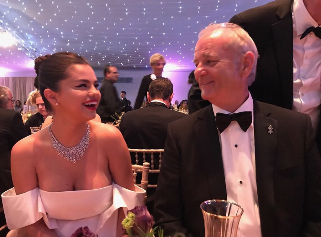 "You Got Jokes -  The 26-year-old star shares several snaps of her first experience at the 2019 Cannes Film Festival, including a candid photo of her and the 68-year-old comedian. ""By the way Bill Murray and I are getting married,"" she  captions  her post."
