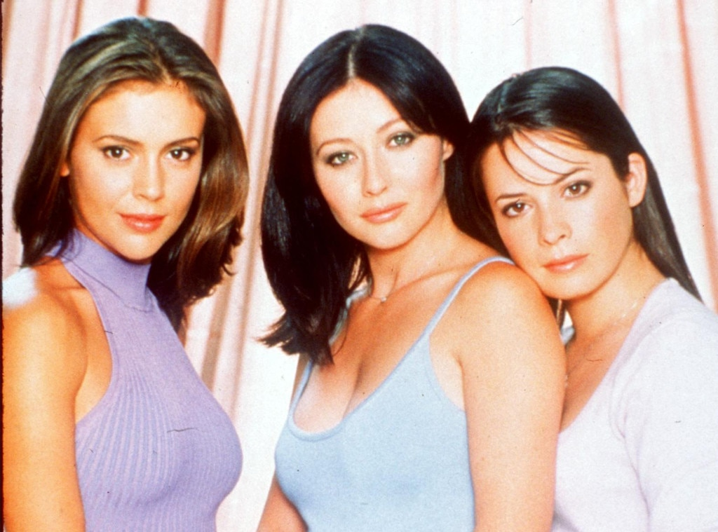 Shannen Doherty, Alyssa Milano, Holly Marie Combs, Charmed