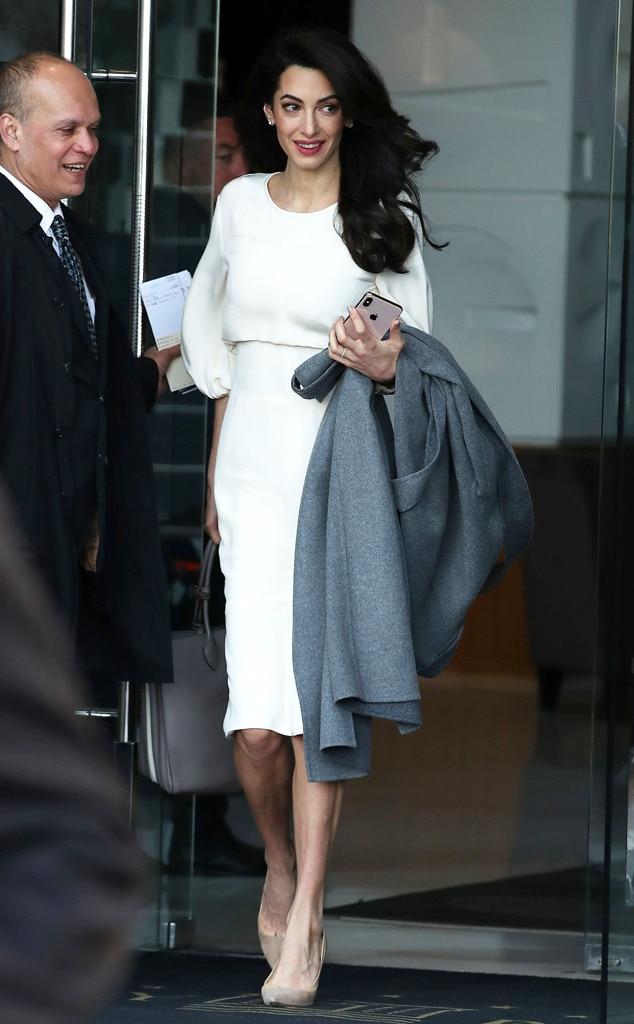 Amal Clooney -  Perfectly polished!