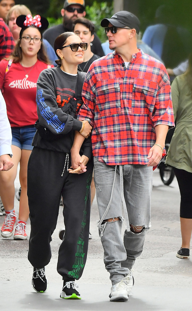 Jessie J, Channing Tatum, Disneyland