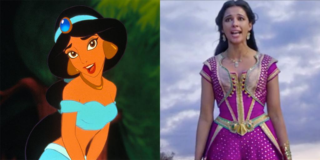 Princess Jasmine, Aladdin, 1992, 2019
