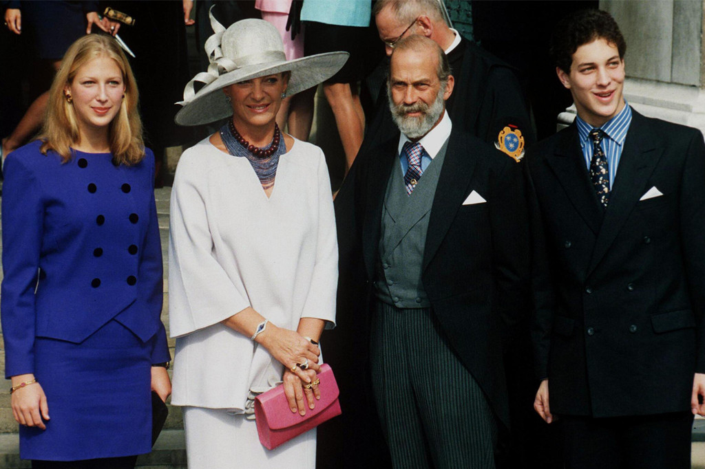 Prince Michael Of Kent, Princess Michael Of Kent, Lady Gabriella Windsor, Lord Frederick Windsor, 1998
