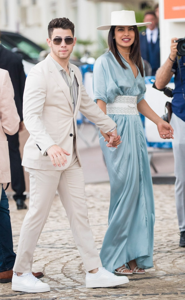 Nick Jonas & Priyanka Chopra -  Cute in Cannes!