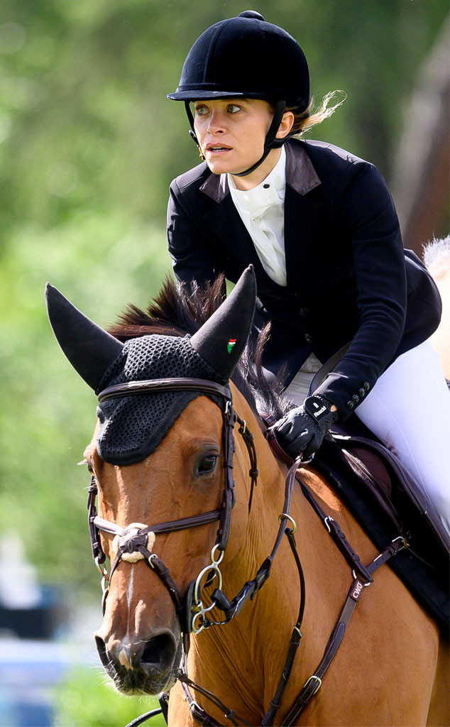 Mary-Kate Olsen Is a Fierce Competitor At a Madrid Horseback Riding Event