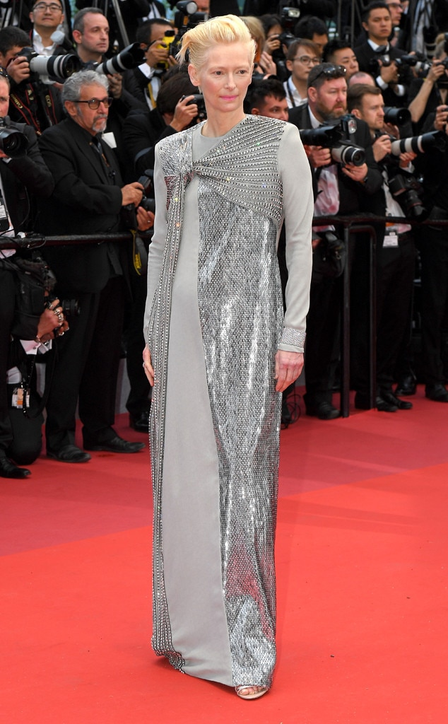 Tilda Swinton -  In Haider Ackermann