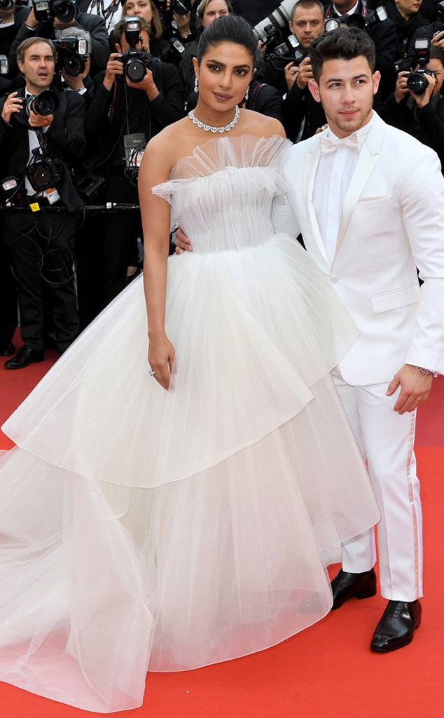 2019 Cannes Film Festival, Red Carpet Fashions, Priyanka Chopra, Nick Jonas
