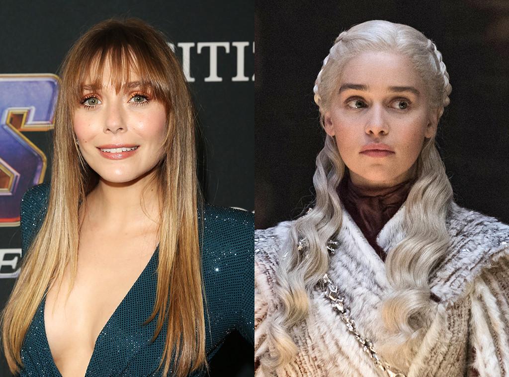 Elizabeth Olsen, Emilia Clarke, Daenerys Targaryen, Game of Thrones