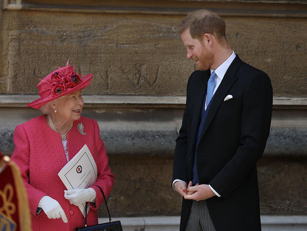 Queen Elizabeth II, Prince Harry, Lady Gabriella Windsor, Thomas Kingston, Royal Wedding