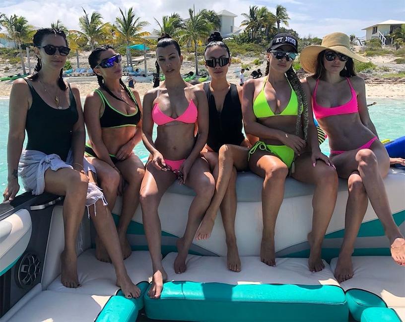 Sarah Howard, Kourtney Kardashian, Turks and Caicos