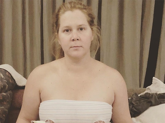 Amy Schumer Shares Photo of Her Pumping Breast Milk After Birth of Son Gene