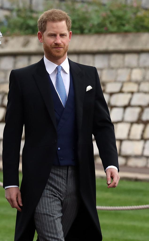 Prince Harry Wedding.Prince Harry Attends Lady Gabriella Windsor S Wedding As Meghan