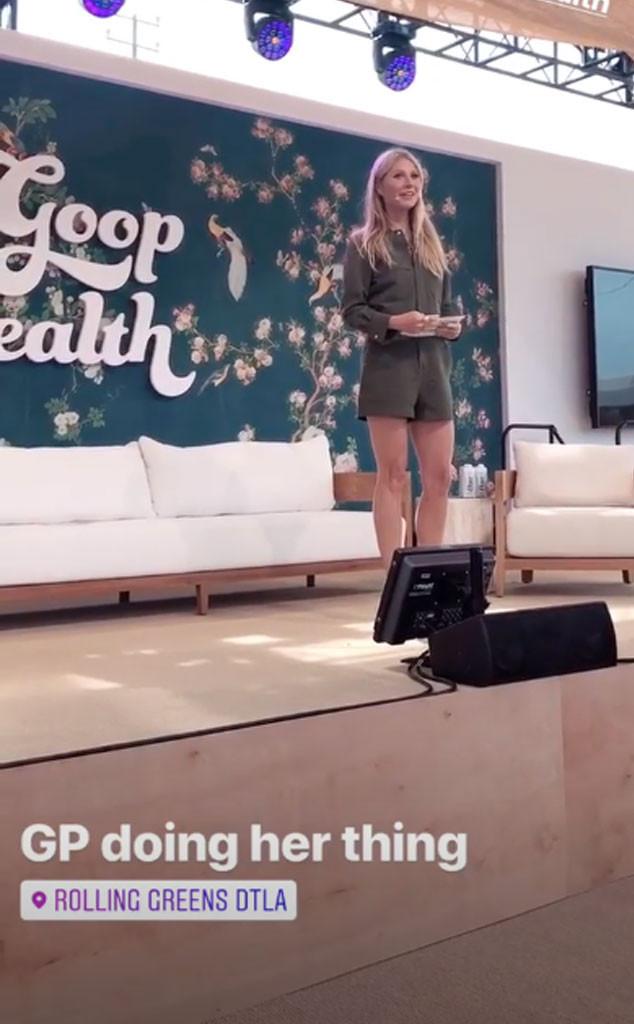 Gwyneth Paltrow, In Goop Health Summit LA