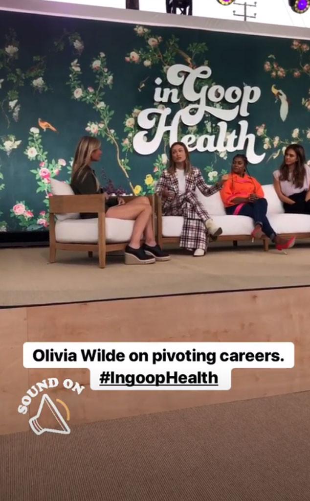 Olivia Wilde, Gwyneth Paltrow, In goop Health Summit LA