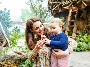 Kate Middleton, Prince Louis, 2019 Chelsea Flower Show, Garden