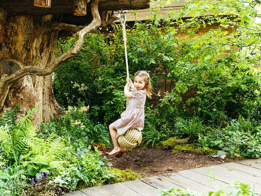 Princess Charlotte, , 2019 Chelsea Flower Show, Garden