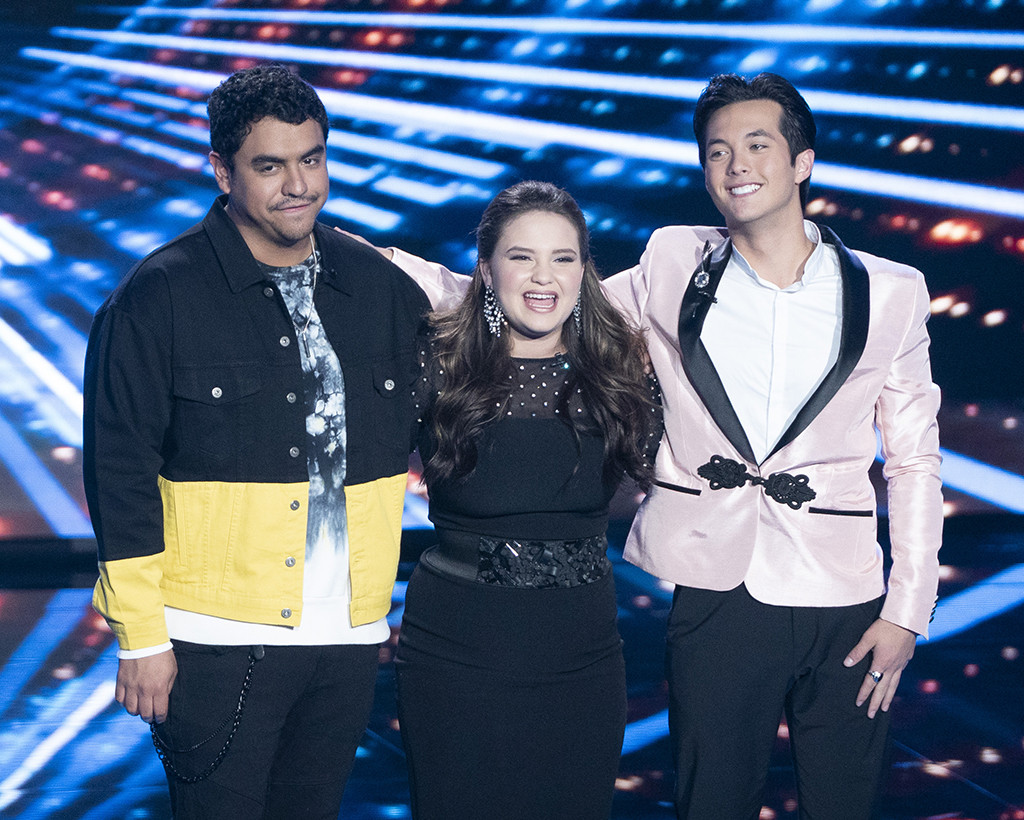American Idol, Alejandro Aranda, Madison Vandenburg, Laine Hardy