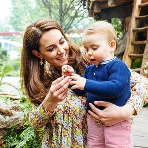 Kate Middleton, Prince Louis, 2019 Chelsea Flower Show, Garden