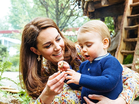 Prince William, Kate Middleton and Their Kids Play in Her Garden at Chelsea Flower Show