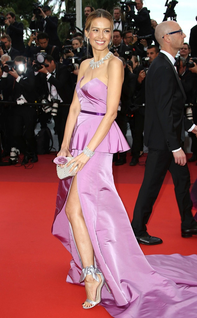 Petra Nemcova -  The actress stuns in lilac.