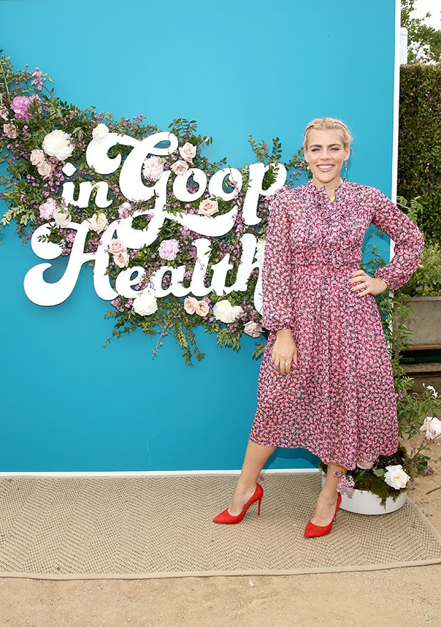Busy Philipps -  The star is all smiles.