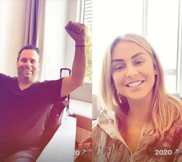 Lala Kent, Randall Emmett, Instagram Stories