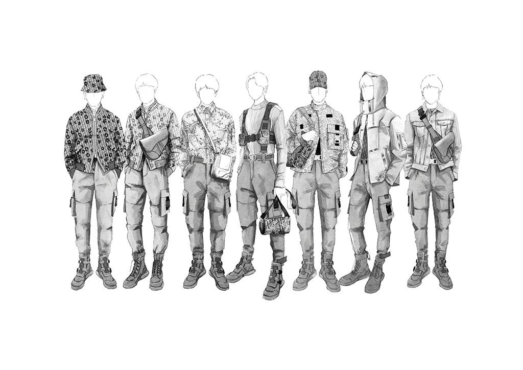 BTS, Dior Homme