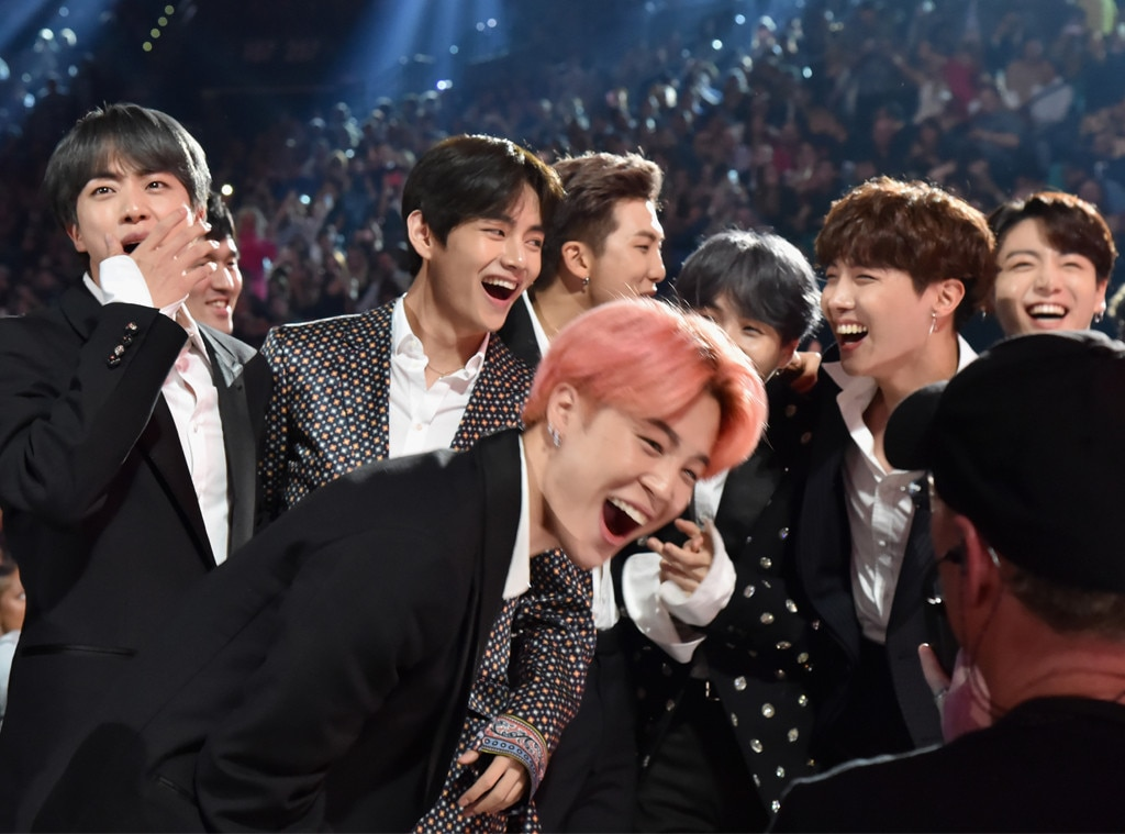 BTS -  The group is shocked and thrilled by their Top Duo and Group win.
