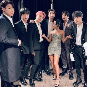 BTS, Becky G, Billboards