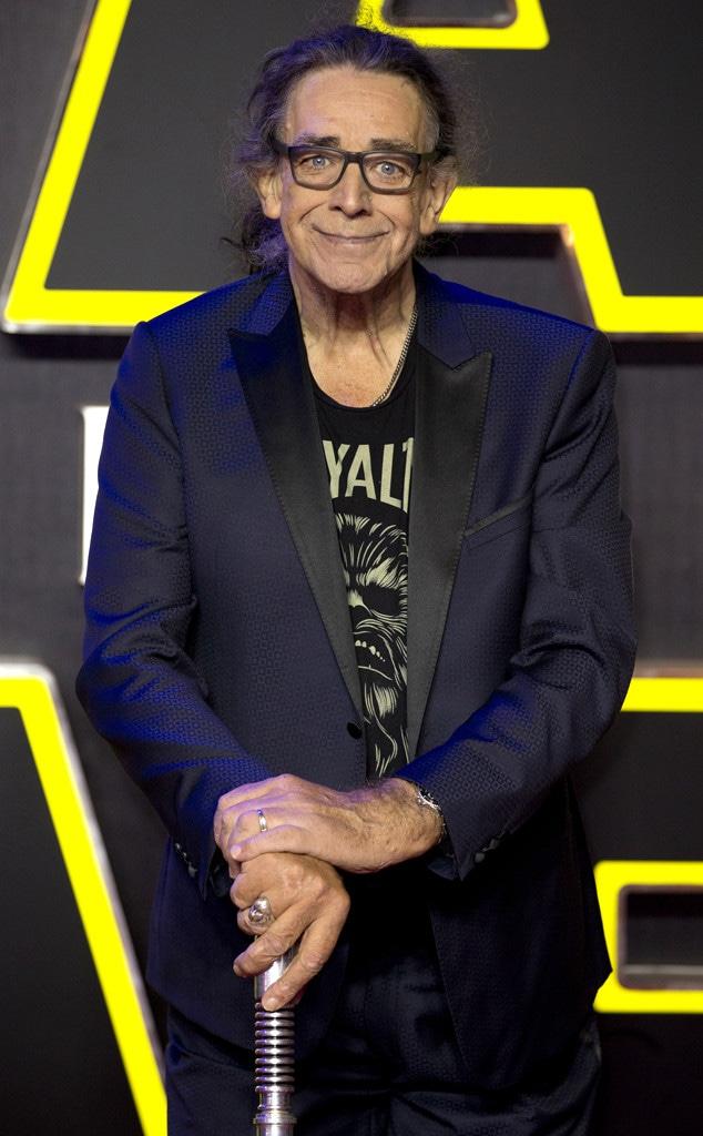 Peter Mayhew, Star Wars Premiere, London
