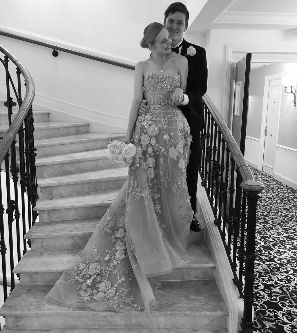 Elle Fanning -  Elle looks like a real-life princess in this larger-than-life ball gown.