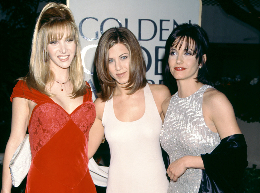Lisa Kudrow, Jennifer Aniston,Courteney Cox