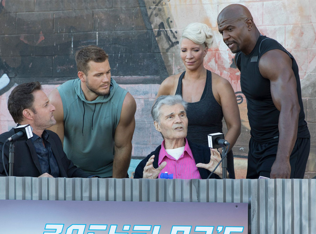 Fred Willard, Terry Crews, Rebecca King-Crews, Chris Harrison, The Bachelor