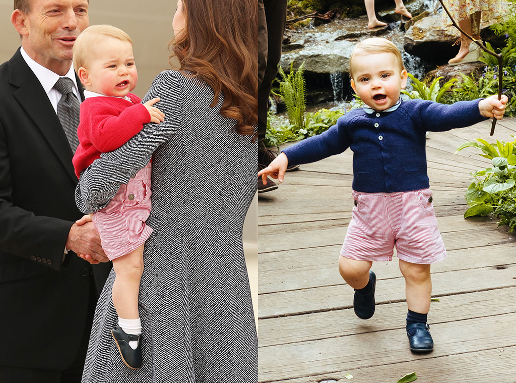 Prince George Prince Louis, 2019 Chelsea Flower Show, Garden
