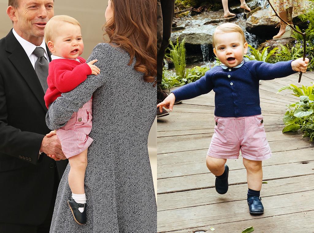 Prince George Prince Louis, 2019 Chelsea Flower Show, Garden