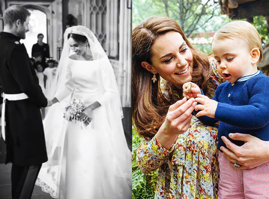 Meghan Markle, Prince Harry, Throwback, Royal Wedding, 1-Year Anniversary, Kate Middleton, Prince Louis
