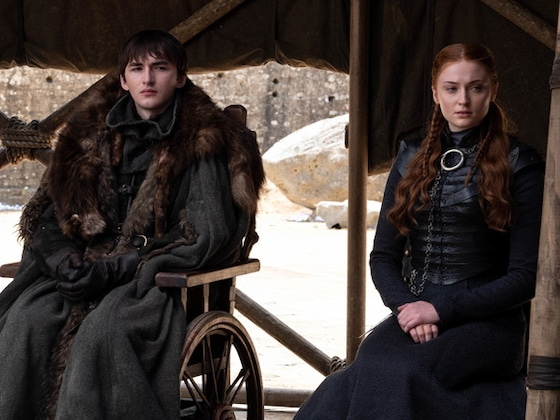 Sophie Turner Gifted the Internet the Best <i>Game of Thrones</i> Series Finale Photo
