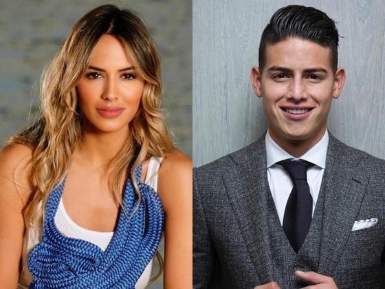 ¡Shannon de Lima y James Rodríguez ya se muestran en público como una pareja