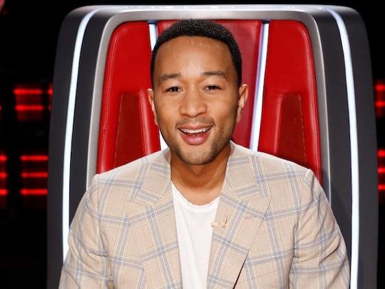 <i>The Voice</i>'s John Legend Recaps His Season Full of Blocks in Super Cute Song