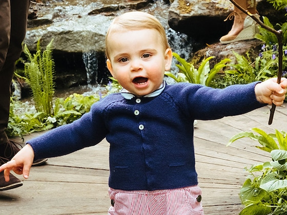 Aw! Prince Louis Wears Prince George's Adorable Hand-Me-Down Shorts